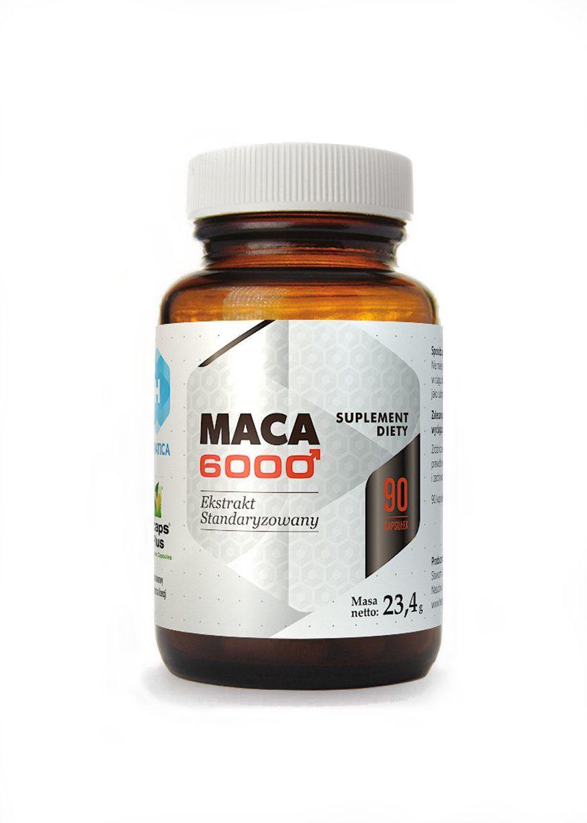Maca 6000 Ekstrakt z korzenia 30:1 (90 kaps) Hepatica