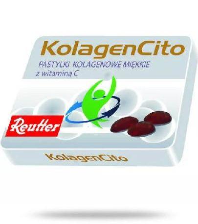 KolagenCito pastylki kolegenowe miękkie z witamina C 48 g