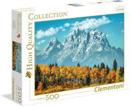 """Clementoni 35034.6 - Puzzle""""High Quality Kollektion - Grand Teton jesienią"""", 500 części"""