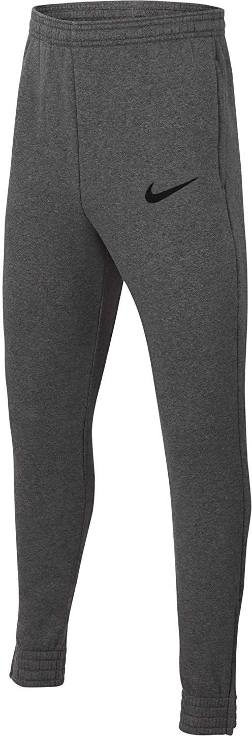Nike Spodnie dresowe dla chłopców Park 20 Dk szary wrzosowy/czarny/czarny S