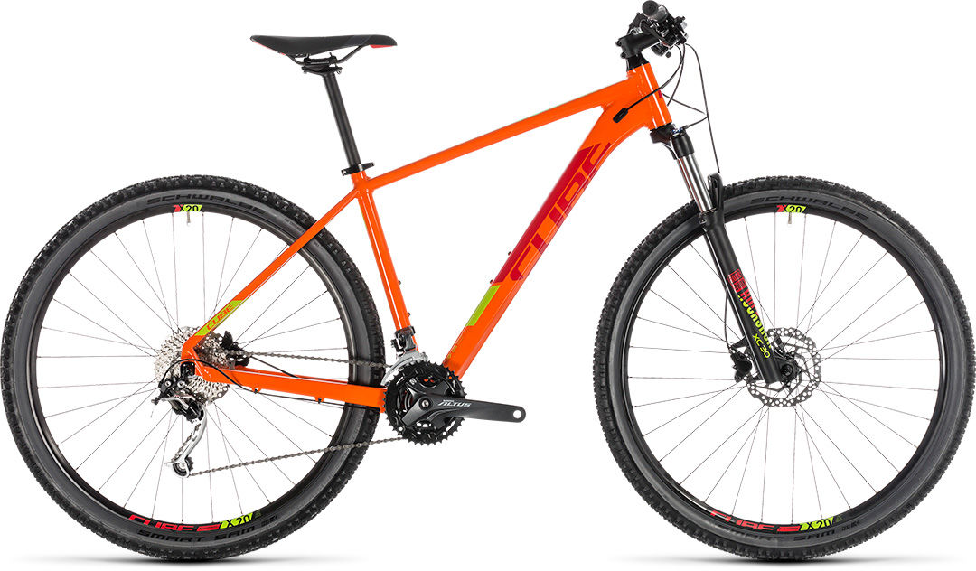 Rower Cube ANALOG 29 pomarańczowy 2019