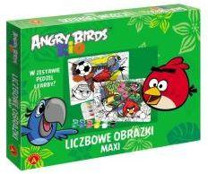 ''ALEXANDER'' Liczbowe obrazki maxi -Angry Birds Rio (5906018009897)