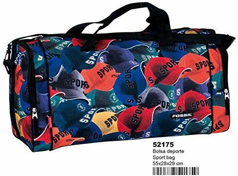 FOSSIL Sport''s Caps torba sportowa do fitnessu i treningu, dla dorosłych, unisex, wielokolorowa (wielokolorowa), rozmiar uniwersalny