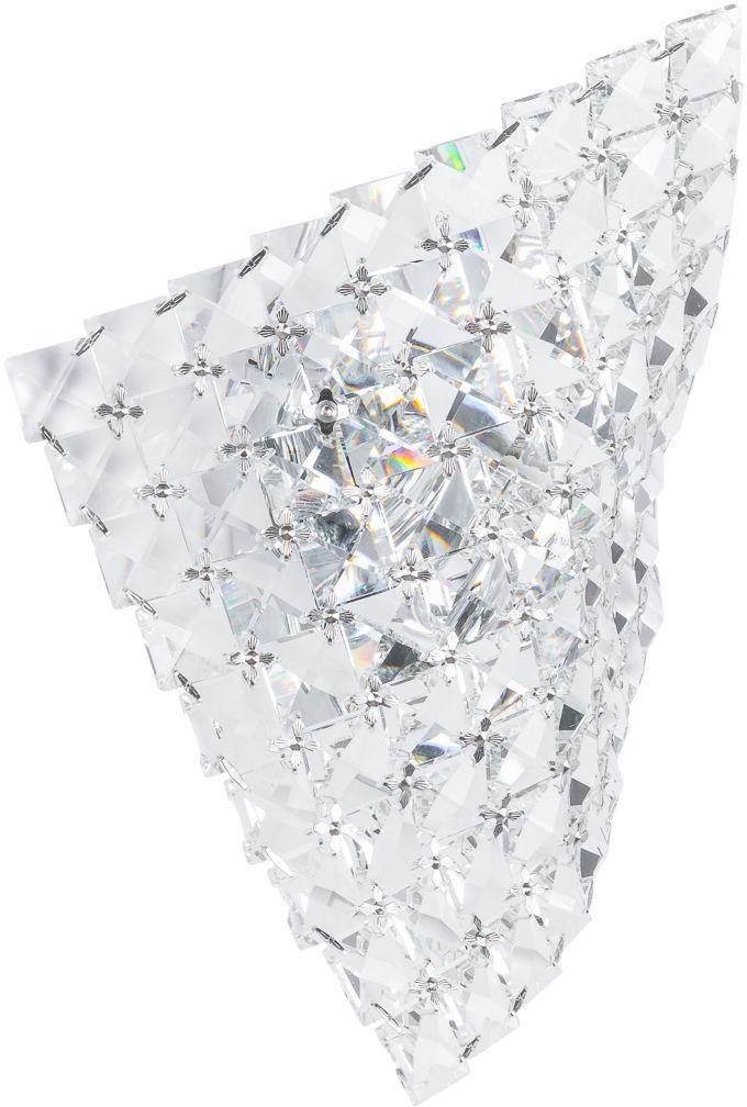 Italux kinkiet lampa ścienna Scarve W0221-01S-F4AC kryształowy