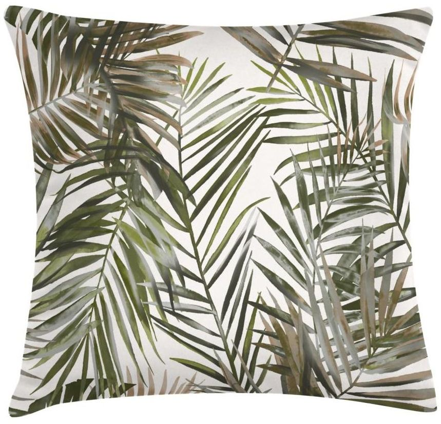 Poduszka w liście Palmalar zielona 45 x 45 cm