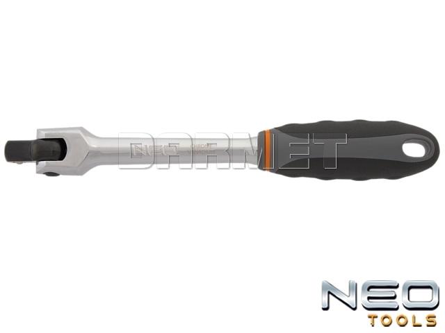 """Rękojeść z przegubem 1/2"""", długość 250MM - NEO TOOLS (08-559)"""