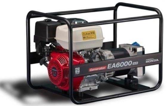HONDA Agregat prądotwórczy EA 6000N 2 AVR I Raty 10 x 0% Dostawa 0 zł Dostępny 24H Dzwoń i negocjuj cenę Gwarancja do 5 lat Olej 10w-30 gratis tel. 22 266 04 50 (Wa-wa)