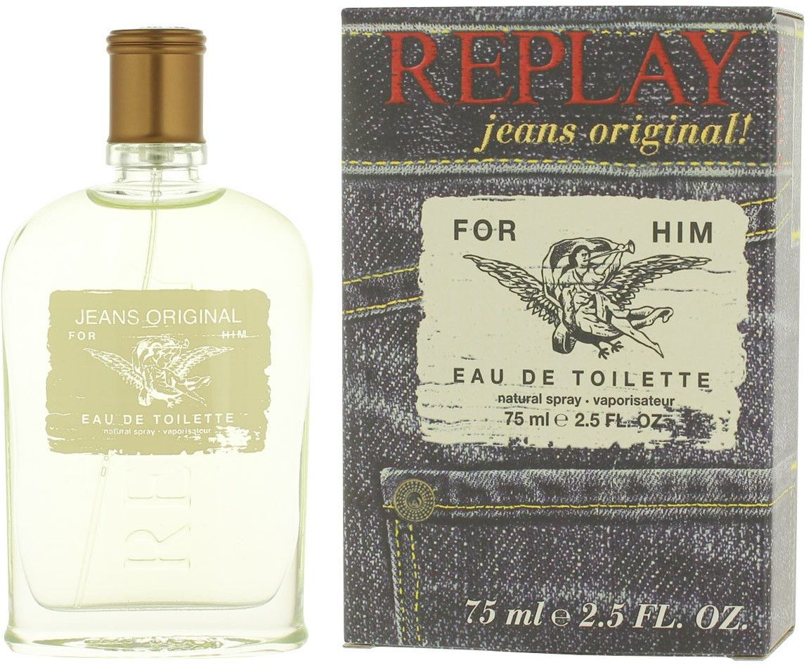 Jeans Original! for Him woda toaletowa spray 75ml Replay