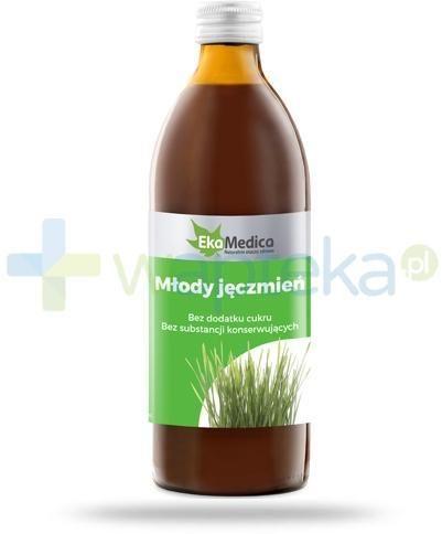 EkaMedica Młody Jęczmień sok pasteryzowany 500 ml