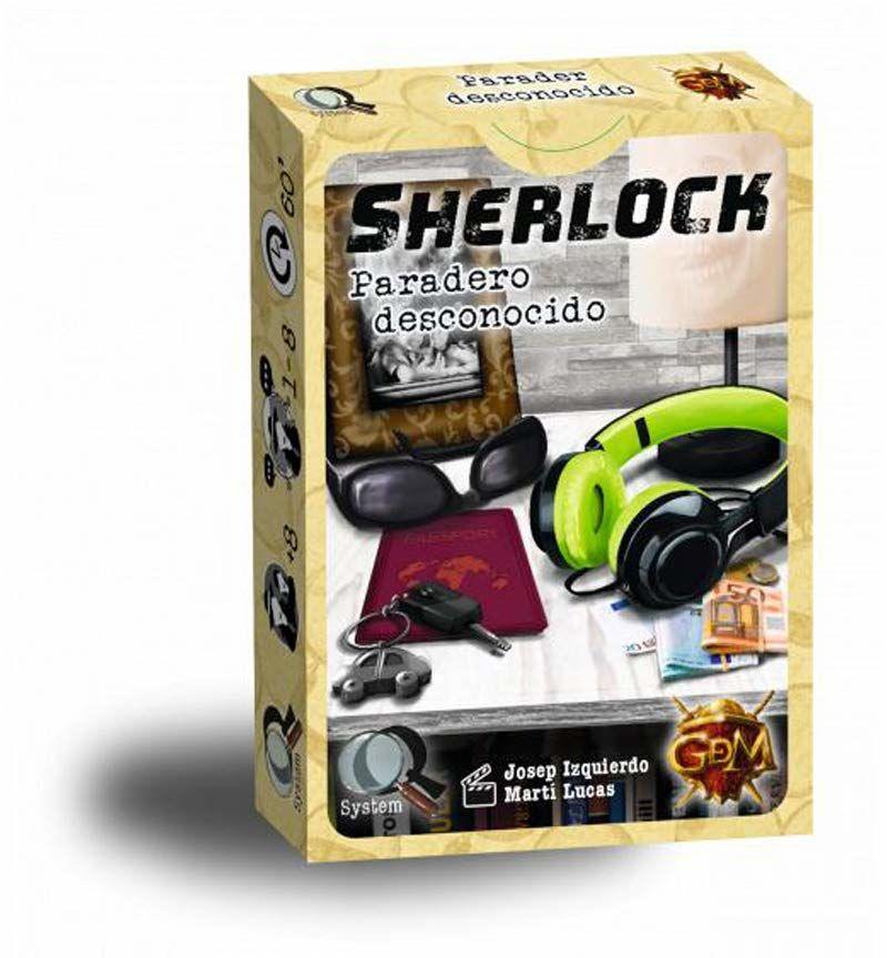 GDM Games Sherlock: nieznana szklarnia w kolorze żółtym GDM32