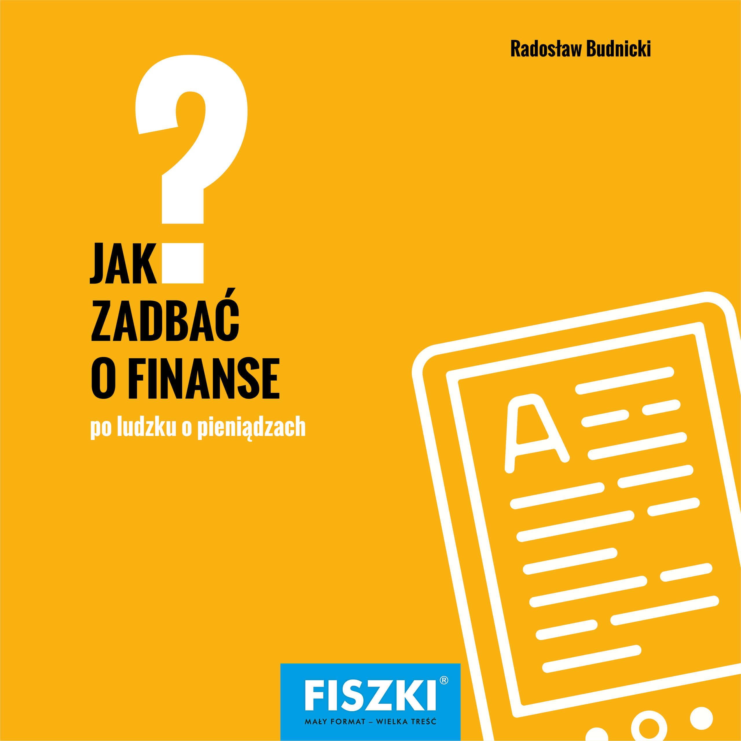 E-BOOK - Jak zadbać o finanse?