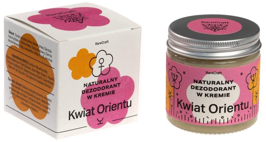 RareCraft dezodorant naturalny Kwiat Orientu 60ml