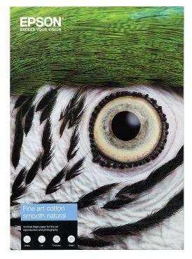 Papier EPSON Fine Art Cotton Smooth Natural 300 g/m  - A4 / 25 arkuszy (C13S450267)