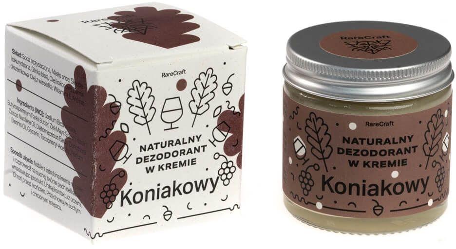 RareCraft dezodorant naturalny koniakowy 60 ml