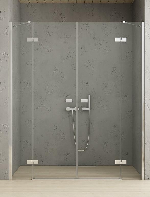 New Trendy Reflexa 230x200 cm drzwi wnękowe przejrzyste EXK-1212/EXK-1213 ___ZAPYTAJ O RABAT!!___