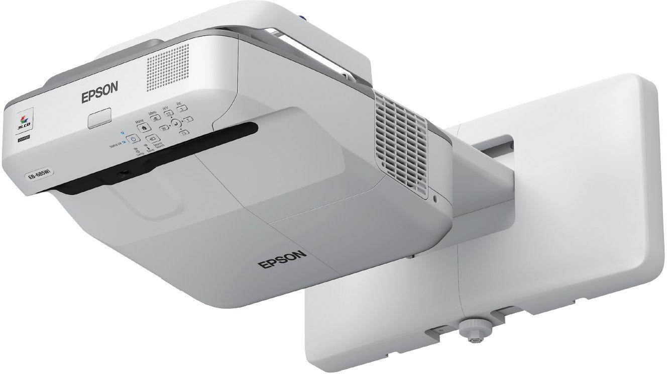 Projektor Epson EB-675Wi - DARMOWA DOSTWA PROJEKTORA! Projektory, ekrany, tablice interaktywne - Profesjonalne doradztwo - Kontakt: 71 784 97 60