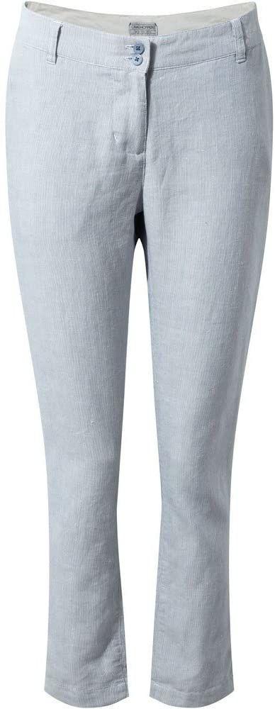 Craghoppers damskie spodnie Odette China Blue Stripe 8
