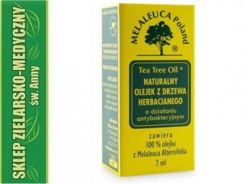 TEA TREE OIL NATURALNY OLEJEK Z DRZEWA HERBACIANEGO 7ml