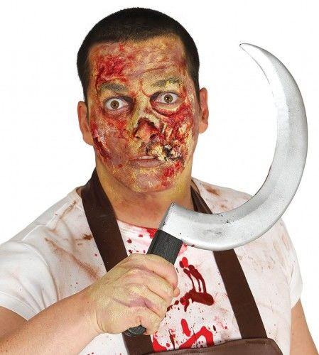 Sierp, broń na Halloween