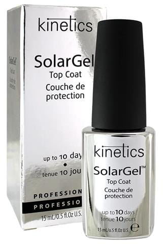 KINETICS Solar Gel Top Coat, 15ml
