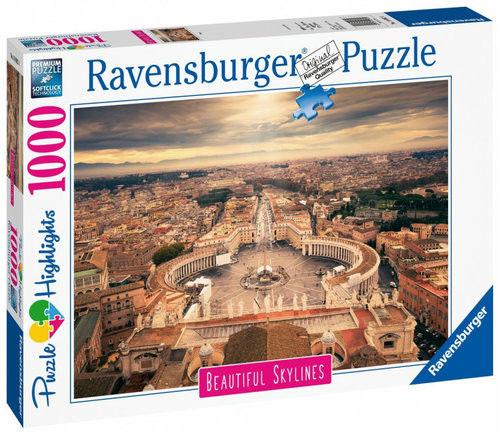 Ravensburger - Puzzle Rzym 1000 elem. 140824