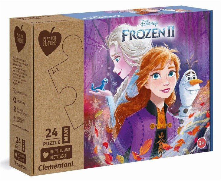 Puzzle 24 Maxi Play For Future Frozen II - 20260