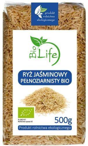 Ryż Jaśminowy Pełnoziarnisty 500g - BioLife