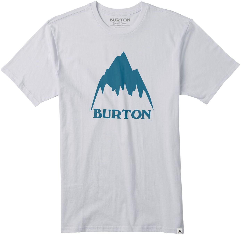 t-shirt męski BURTON CLASSIC MOUNTAIN HIGH SS Stout White