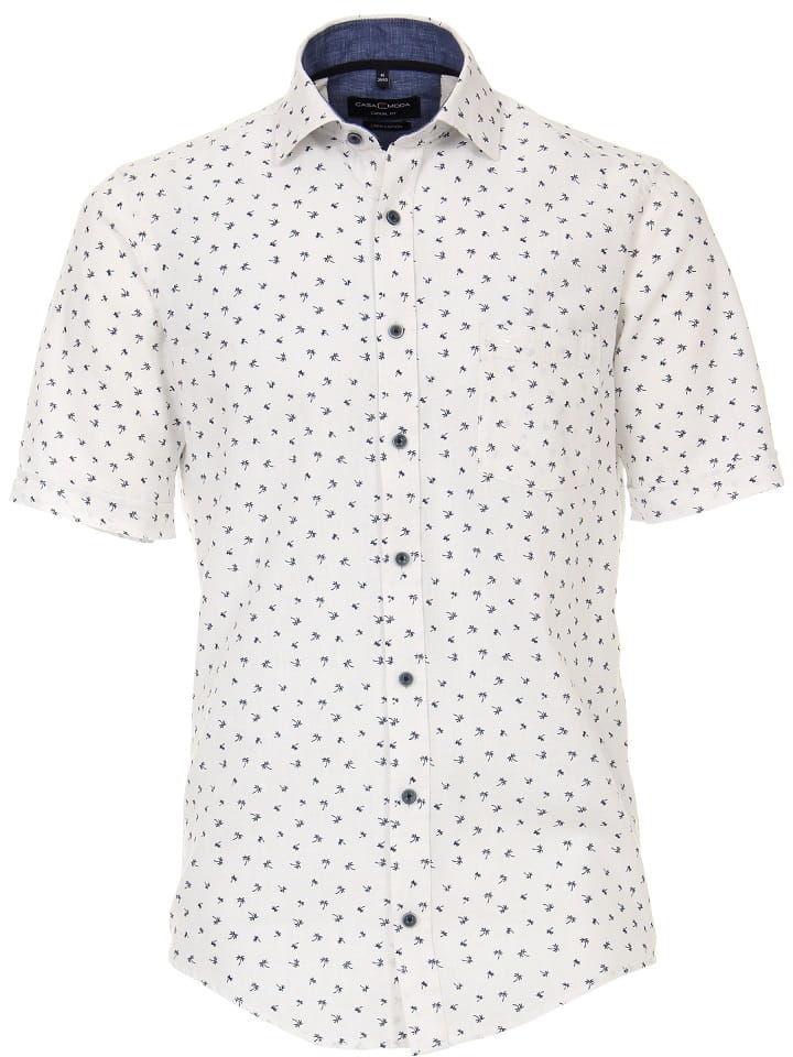 CASAMODA 9700 Duża Koszula Lniana Biała