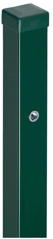 Słupek bramowy 7 x 7 x 240 cm zielony STARK POLBRAM