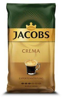 Kawa ziarnista JACOBS Crema 1kg. Kup taniej o 40 zł dołączając do Klubu