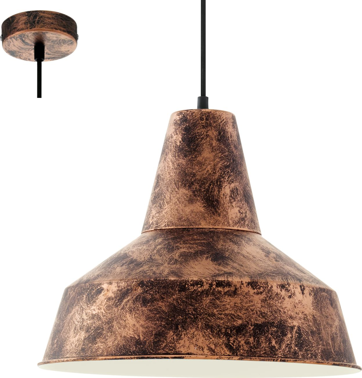 Eglo lampa wisząca Somerton 49388 - SUPER OFERTA - RABAT w koszyku