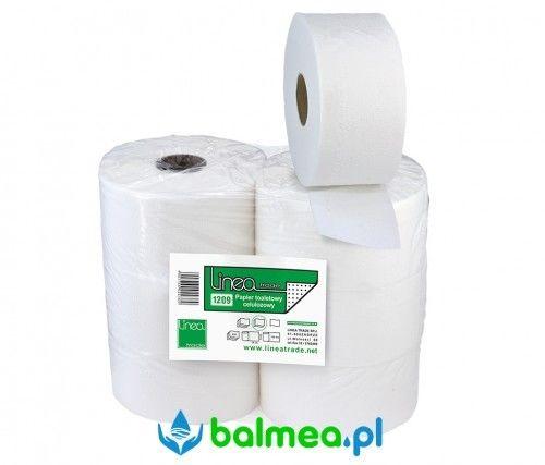Papier toaletowy biały w rolce jumbo 18,5 cm