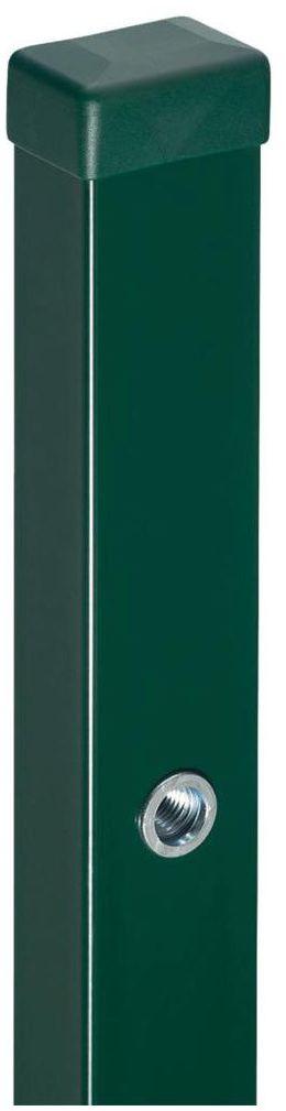 Słupek furtkowy 6 x 4 x 220 cm zielony STARK POLBRAM