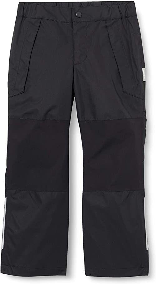 Reima Unisex dziecięce spodnie Lento czarny czarny 110