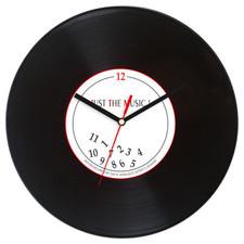 Zegar płyta winylowa Just the Music
