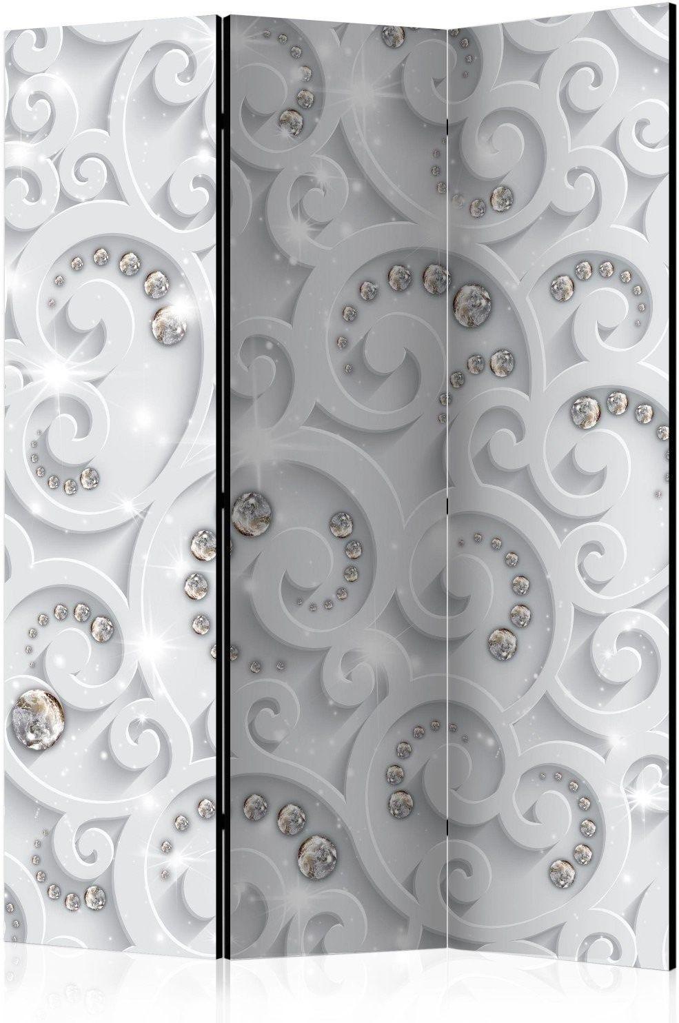 Parawan 3-częściowy - abstrakcyjny przepych [room dividers]