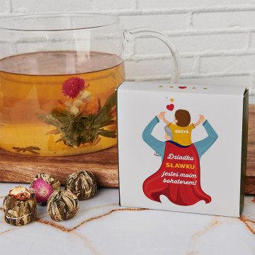 Bohater dziadek - Herbata kwitnąca