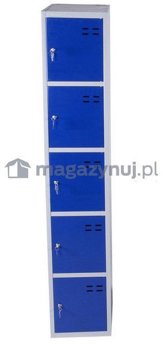 Szafka magazynowa wym. 1920x350x550 mm (kolor: niebieski)
