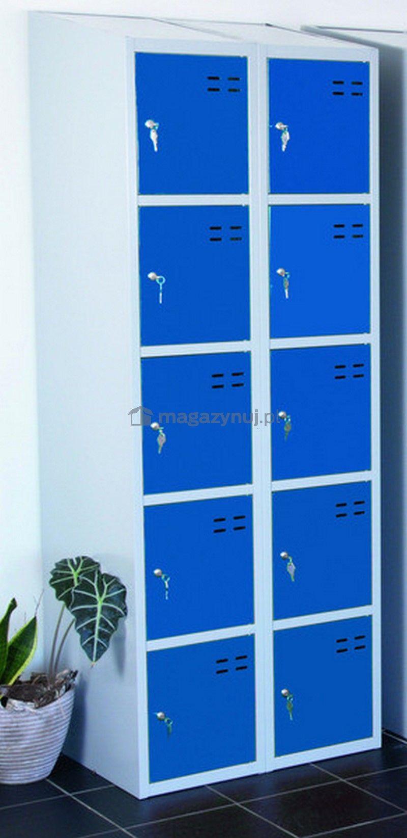 Szafka magazynowa wym. 1920x700x550 mm (kolor: niebieski)