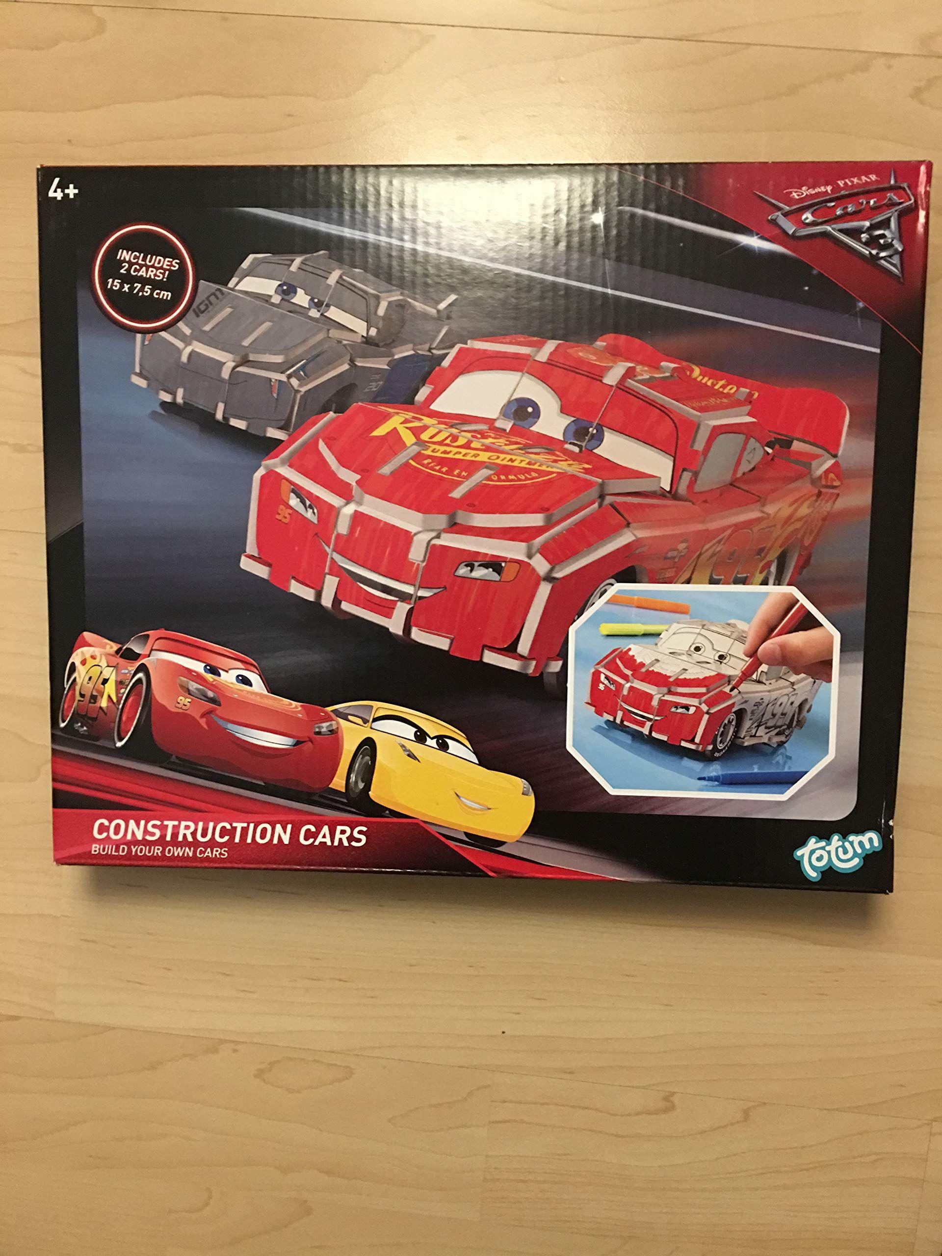 Totum 643432 140196 Disney Cars 3 zrób swoją McQueen + Storm