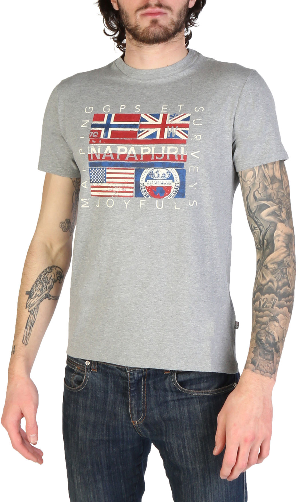 Koszulki Napapijri dla mężczyzn