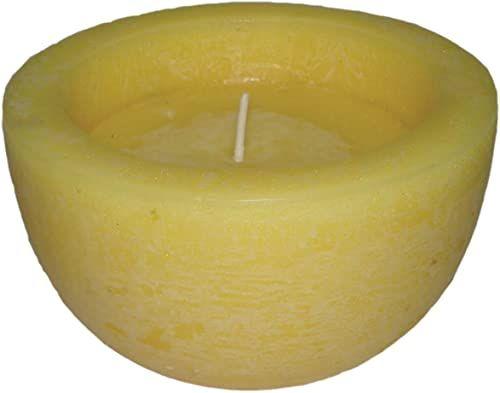 Laroom 11451  świeca zapachowa cytryna, duża miska, żółta