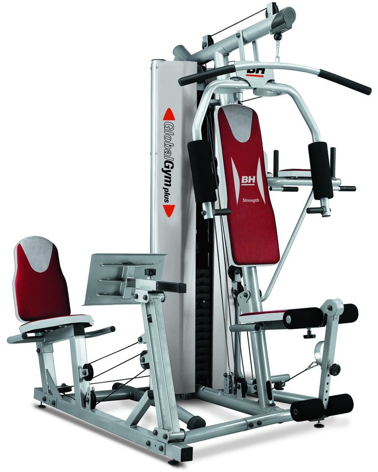Atlas Treningowy Global Gym G152X BH Fitness