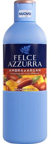 Felce Azzurra Ambra i argan - Zmysłowy płyn do kąpieli (650 ml)