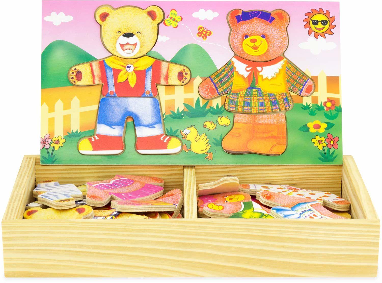Ulysse Ubieranie puzzli niedźwiedź i młode rodzina