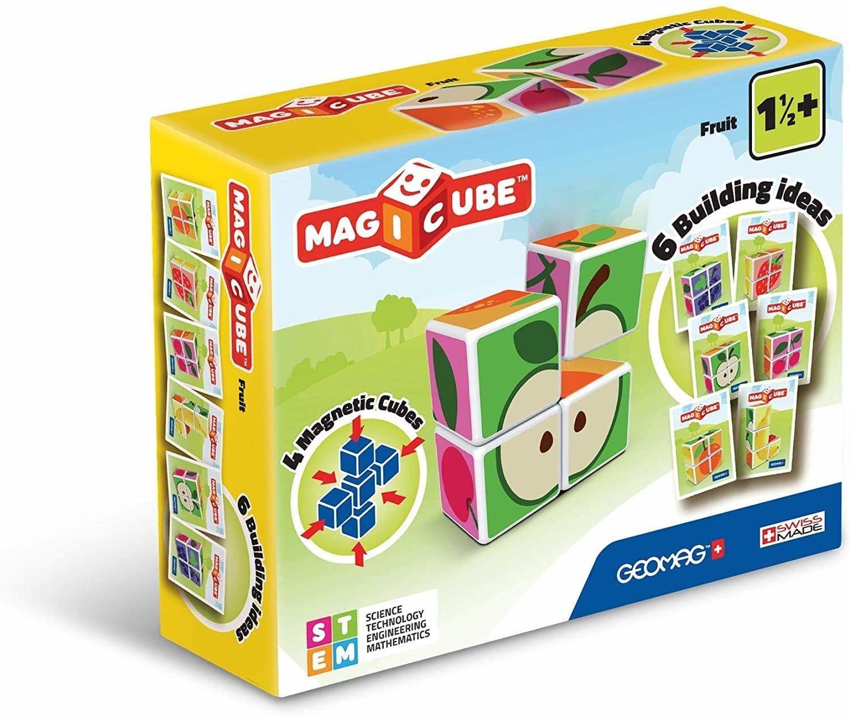 "Geomag 31"" Magicube Fruit Building zestaw, wielokolorowy"