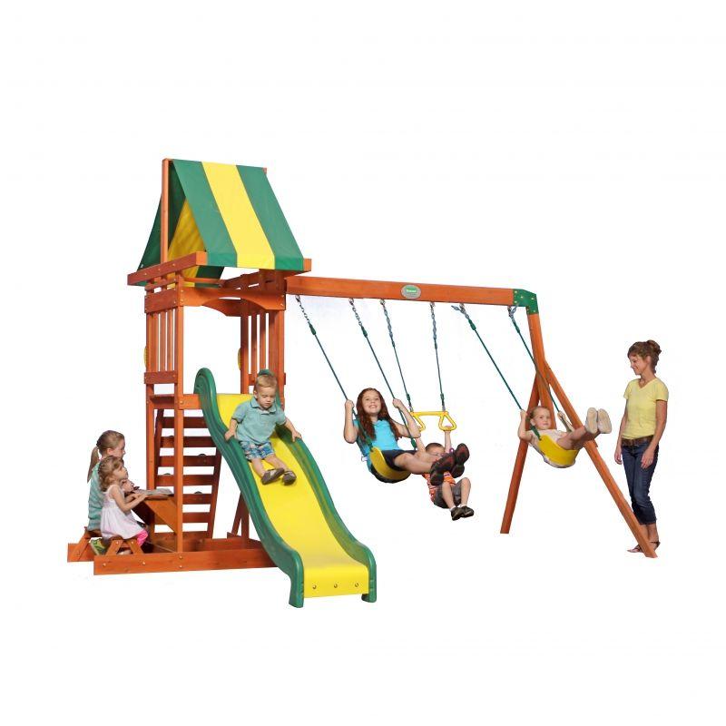 Drewniany Plac zabaw Sunnydale Backyard Discovery + Stolik gratis! LK