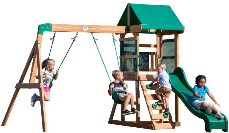 Backyard Discovery Buckley Hill drewniany plac zabaw 5w1 + Stolik gratis! LK