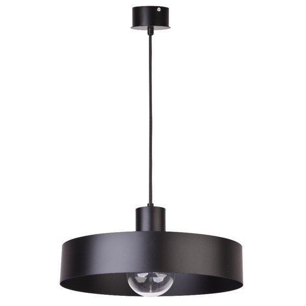 Lampa wisząca RIF czarna 35cm SIGMA 30895